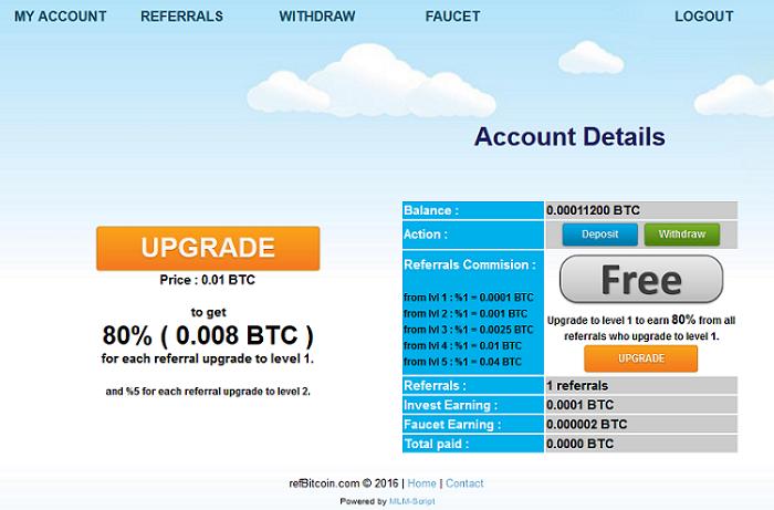 AmazingFreeBitcoin.com - Free Bitcoin Faucet Sites List Rotator
